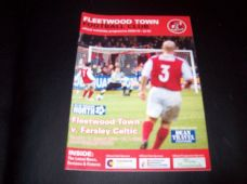 Fleetwood Town v Farsley Celtic, 2009/10